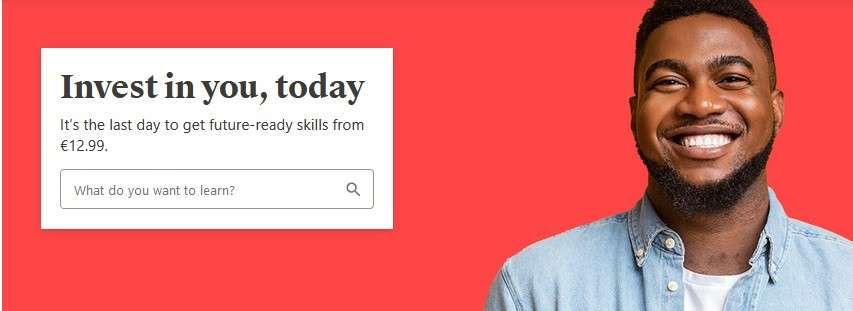 Udemy's Call To action