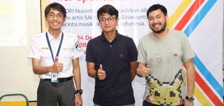Foto kerja sama strategis KAORI Nusantara dan Sony Music Indonesia