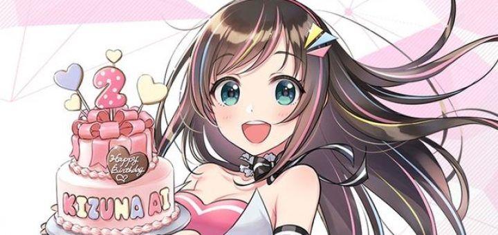 cover kizuna ai birthday