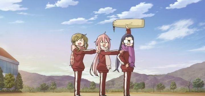 "Trailer for TV anime program ""Laid-Back Camp season2"" 0-18 screenshot"