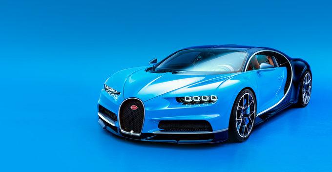 Bugatti Chiron - ලොව නිශ්පාදිත වේගවත්ම මෝටර් රථය
