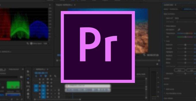 Adobe Premiere Pro සුද්ද කරමු