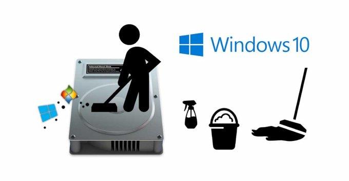 Windows 10 හරියට cleanup කරමු