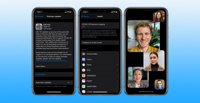 iOS 13.5 released - Update කල යුතුද?
