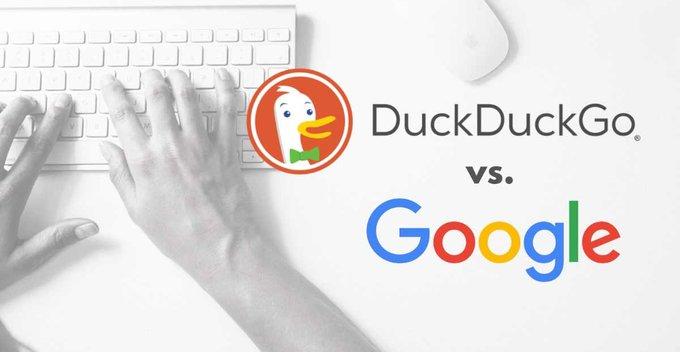 අපිට වඩා අපි ගැන දන්න Google සහ අපිව නොදන්න DuckDuckGo
