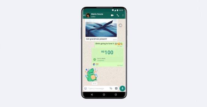 VISA හා MASTERCARD එක්ව WhatsApp Pay බ්රසීලයෙන් පලවා හරී