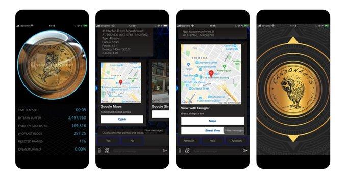 පාලු ගොඩනැගිලි, බෑග් වල ඇති මළසිරුරු වැනි අද්භූත locations වලට පාර කියන Randonautica App එක