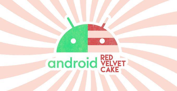 Android 11 වලටත් අතුරුපසක නමක්, Red Velvet Cake