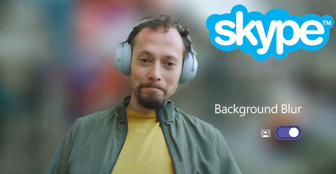 Background Blur දැන් Skype එකටත්, හැබැයි iOS Userලාට විතරයි