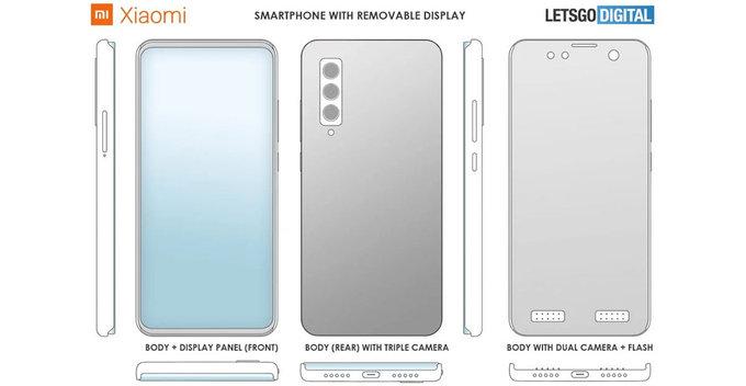 Xiaomi සමාගම විසින් ඉවත් කල හැකි තිරයක් සහිත ජංගම දුරකථනයකට පේටන්ට් බලපත්ර ඉල්ලුම් කරයි