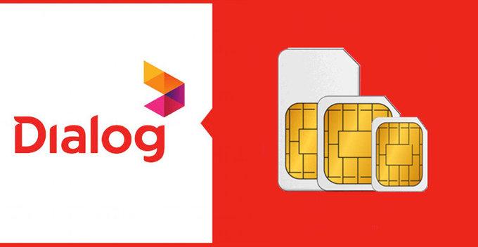 Dialog නව SIM එකක් මිලදි ගැනිමේදි හා 3G SIM 4G SIM බවට වෙනස් කිරිමේදි නව Offer කිපයක් ලබා දේ