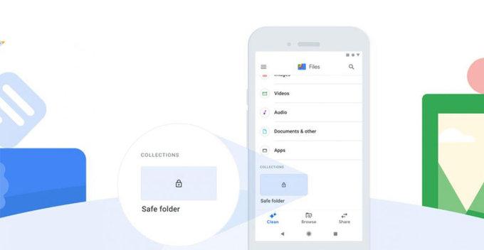 Google Files විසින් PIN-encrypted 'Safe Folder' පහසුකම ලබා දෙයි