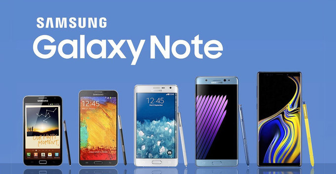 Samsung Galaxy Note Series එකේ ආගමනය - Part 01