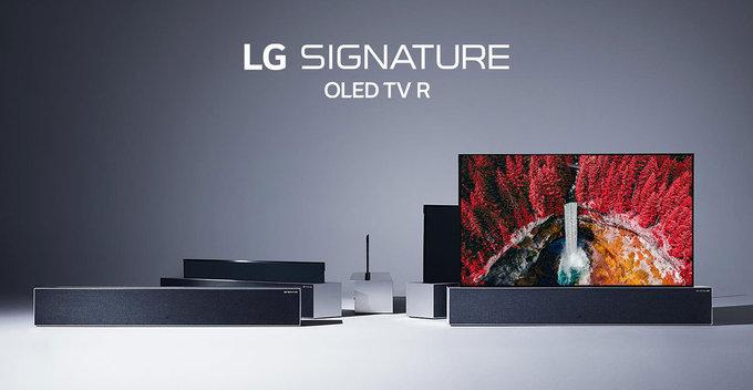 LG සමාගම විසින් LG Signature OLED R නම් අඟල් 65ක රෝල් කර හැකි තිරයක් සහිත රූපවාහිනියක් $87,000ක මුදලකට එලි දක්වයි