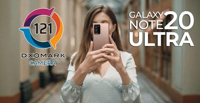 DxOMark ලකුණු 121 ක් ලබාගත් Samsung Galaxy Note 20 Ultra 5G දුරකතනය Mi 10 Ultra දුරකතනයට වඩා පිටුපසින් හිටගනී