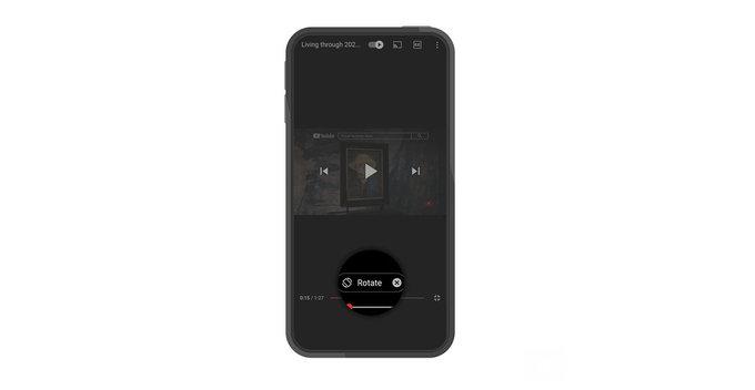 YouTube mobile app එක සඳහා නව gestures සහ playback controls ලබා දීමට කටයුතු කරයි