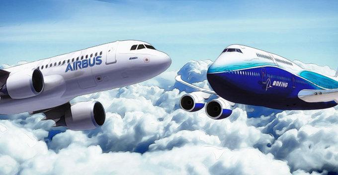 Airbus සහ Boeing වර්ගයේ ගුවන් යානා හඳුනා ගන්නේ කොහොමද?