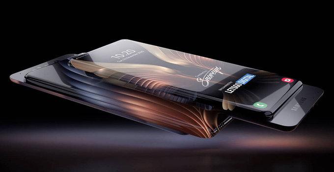 Samsung සමාගම විසින් 100% bezel less තිරයකින් සහ sliding cameras වලින් යුතු ජංගම දුරකතනයක් සඳහා patent බලපත්ර ලබා ගනී