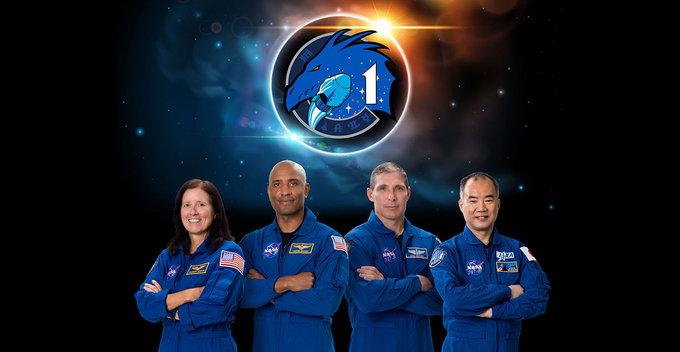 ප්රථම NASA බලපත්රලාභී මිනිසුන් ගෙන යාහැකි පෞද්ගලික වාණිජ අභ්යවකාශ යානය ලෙස SpaceX Crew-1 මිෂන් එක වාර්තා තබමින් ආරම්භ වේ
