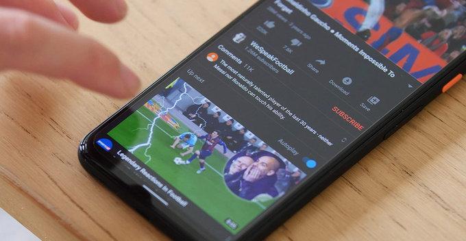 Android සඳහා වන YouTube app එකේ video description එක සඳහා sheet-base UI එකක් හඳුන්වා දේ