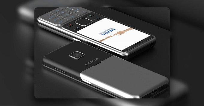 NOKIA 6300 (2020) සහ Nokia 8000 4G (2020)හි renders අන්තර්ජාලය හරහා හෙලි වේ
