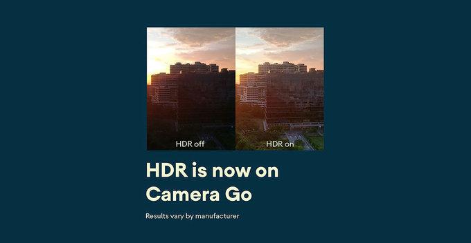 Google Camera Go පරිශීලකයන්ට HDR ඡායාරූපකරණ පහසුකම ලබා දීමට Google සමාගම කටයුතු කරයි
