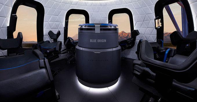 Amazon.com නිර්මාතෲ Jeff Bezosගේ Blue Origin 2021 ජයග්රාහීව අරඹයි