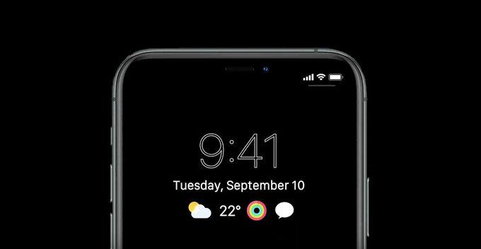 2021 නිකුත් වීමට නියමිත iPhones සඳහා Always-on-display සහ in-display fingerprint පහසුකම ලබා දෙන බවට තොරතුරු පලවේ