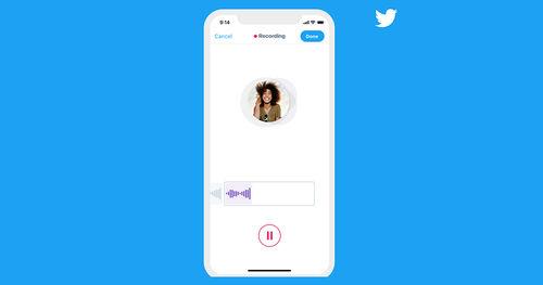 ඔබගේ කටහඬින්ම tweet කරන්න Voice Tweets, Twitter සමාගම විසින්  හඳුන්වා දෙයි