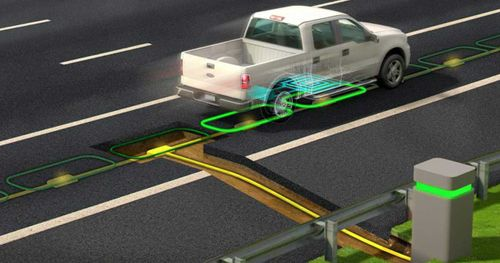යන එන ගමන් Electric vehicle charge කල හැකි පාරක් නිපදවයි