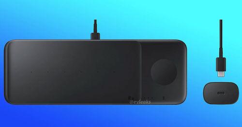 Devices තුනක් එක විට Charge කල හැකි Pad Trio නම් Wireless Charger  එකක් Samsung සමාගම හඳුන්වා දීමට සැරසේ