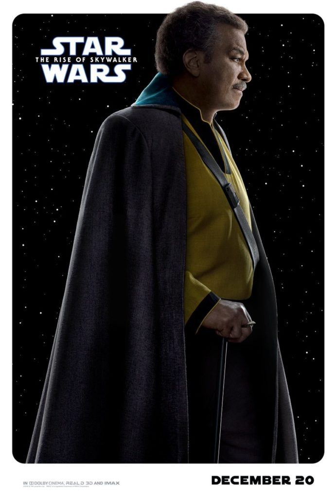 The Rise of Skywalker: IMAX and RealD 3D poster pay homage to Episode IV – A New Hope.