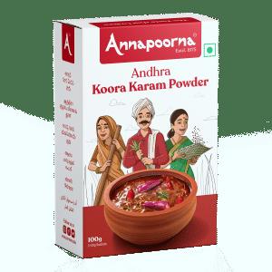 Best Andhra Koora Karam Powder