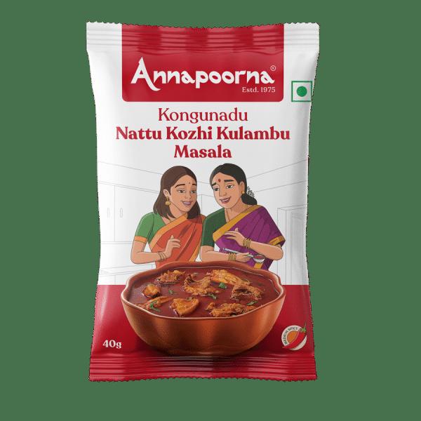 Kongunadu Nattu Kozhi Kulambu Masala