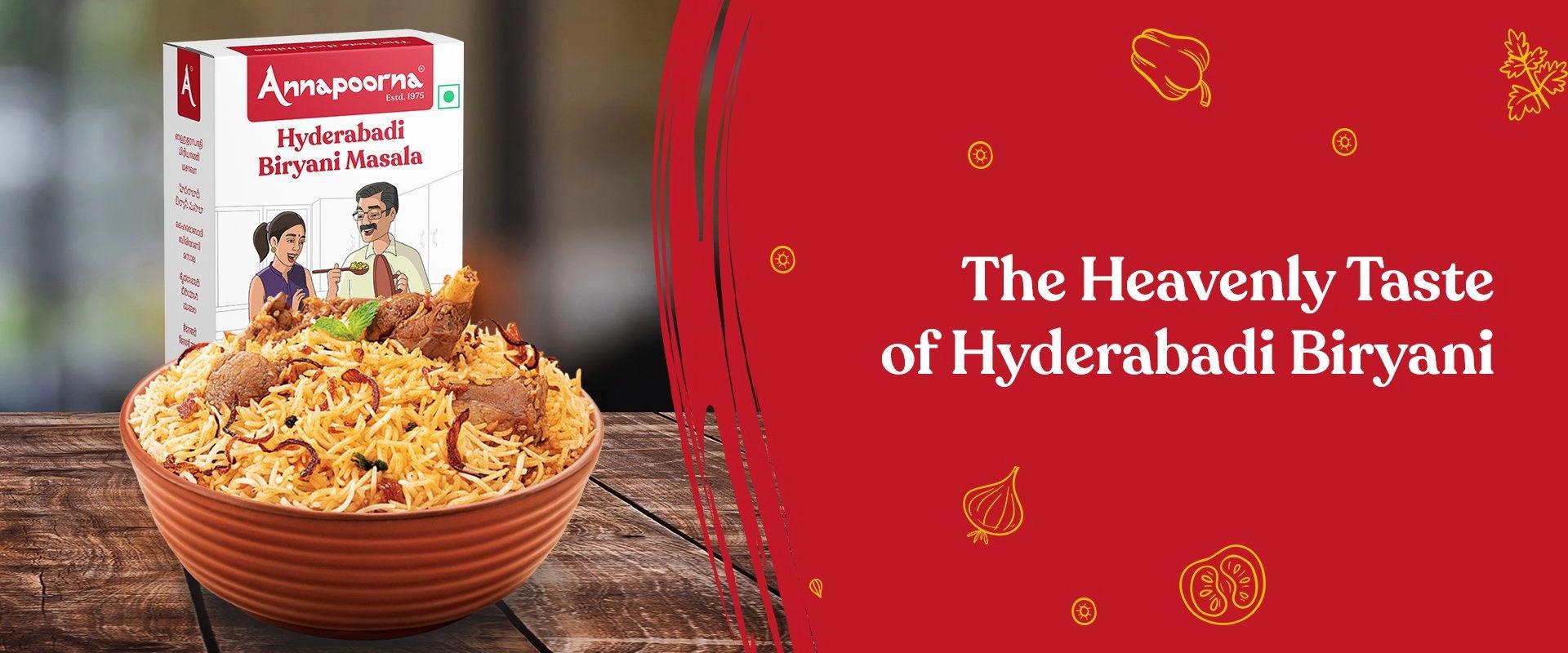 Hyderabadi Biryani Masala Powder