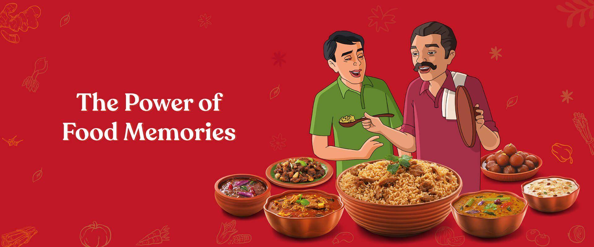 Powder of Food Memories