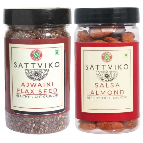Sattviko Almonds and Flax Seed Combo