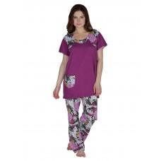 Secret Wish Cotton Purple Night Suit