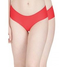 Secret Wish Seamless Red Panty - Pack of 2