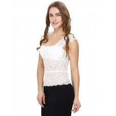 White Lacy Camisole