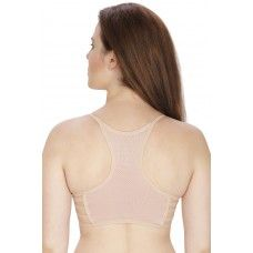 Secret Wish Padded Nylon,Spandex Skin Sports Bra
