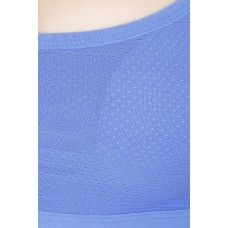 Secret Wish Padded Nylon,Spandex Blue Sports Bra