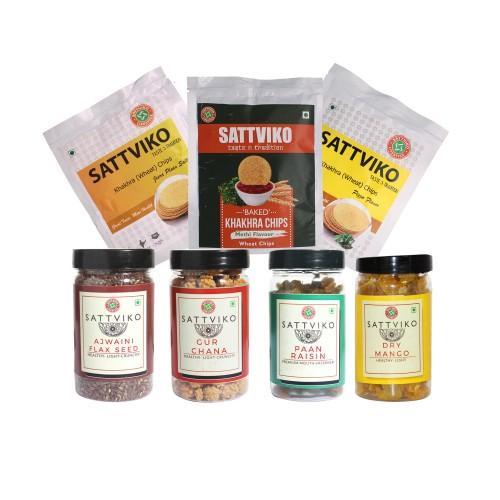 Sattviko khakra chips special combo
