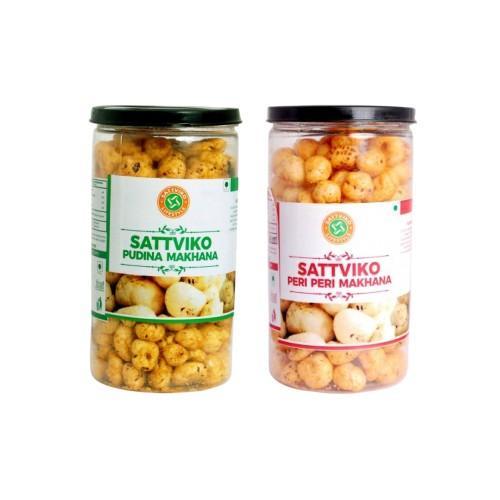 Sattviko healthy and crunchy Makhana combo