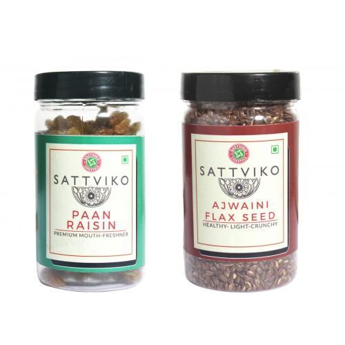 Paan Raisin & Ajwaini Flax Seed Combo