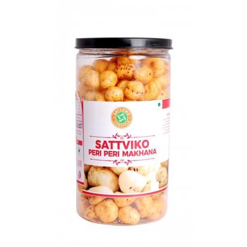Sattviko Peri Peri Makhana Pet Jar (75 Grams)