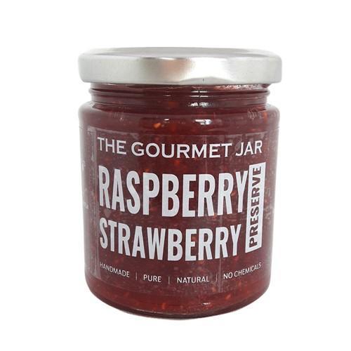 The Gourmet Jar Raspberry & Strawberry Preserve 240g