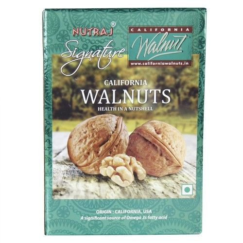 Nutraj Signature California Walnuts (With Shell), 1000g