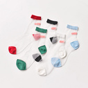 Mesh band-aid socks colors