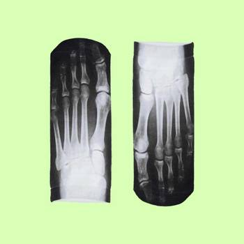Skeleton x-ray 3d printed socks